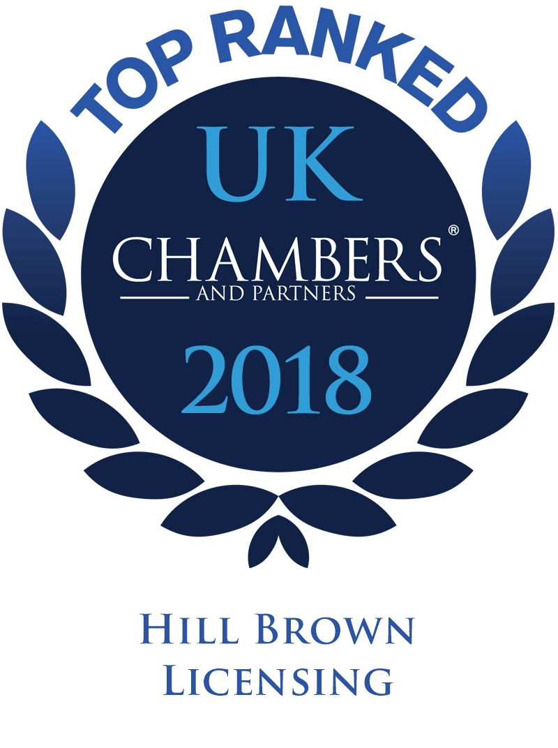 Chambers Guide 2018 Hill Brown Licensing